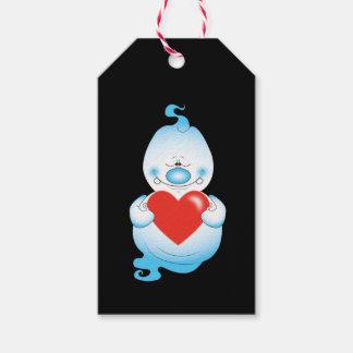 Cute Halloween Ghost Cartoon Gift Tags