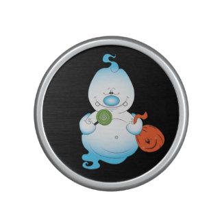 Cute Halloween Ghost Cartoon Speaker