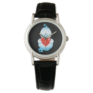 Cute Halloween Ghost Cartoon Watch