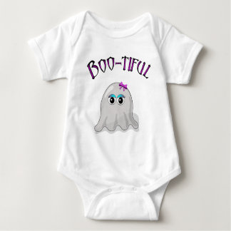 Cute Halloween ghost design Baby Bodysuit