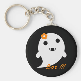 Cute Halloween Ghost Key Ring
