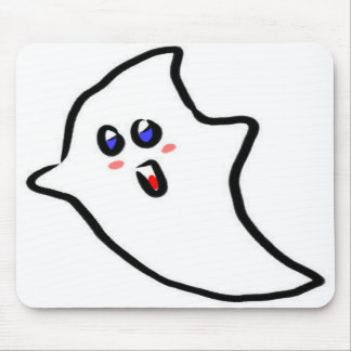 cute halloween ghost mouse pads