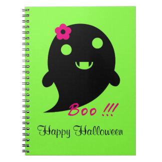 Cute Halloween Ghost Notebooks