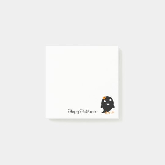 Cute Halloween Ghost Post-it Notes