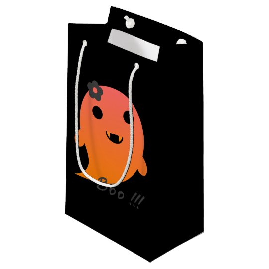 Cute Halloween Ghost Small Gift Bag