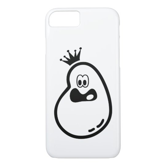 Cute Halloween Ghost with crown iPhone 8/7 Case