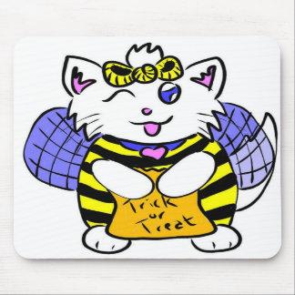 cute halloween kitten mouse pads