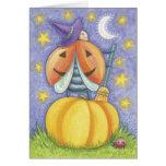 Cute Halloween Ladybug Cards
