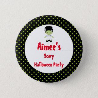 Cute Halloween Monster Girl Halloween Party 6 Cm Round Badge