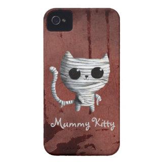 Cute Halloween Mummy Cat Case-Mate iPhone 4 Case