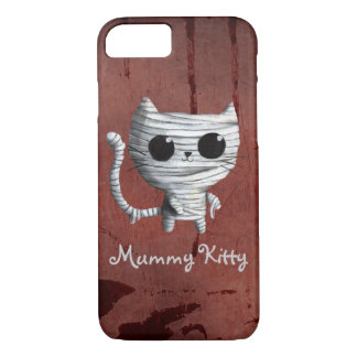 Cute Halloween Mummy Cat iPhone 8/7 Case