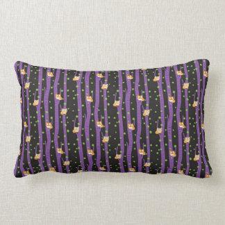 Cute Halloween Night Owl Lumbar Cushion