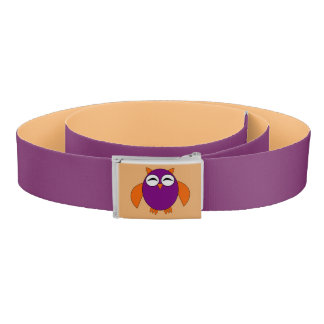 Cute Halloween Owl Belt