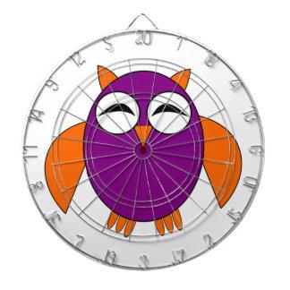 Cute Halloween Owl Dart Board