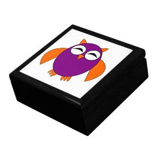 Cute Halloween Owl Gift Box