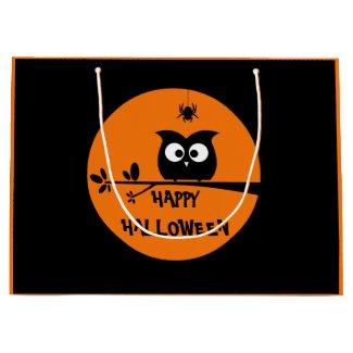 Halloween Owl Gift Bag