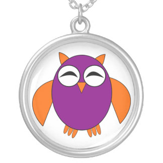 Cute Halloween Owl Necklace