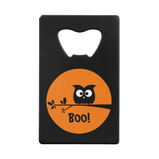 Cute Halloween Owl with customised Moon colours