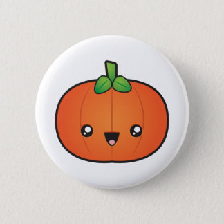 Cute Halloween Pumpkin 6 Cm Round Badge
