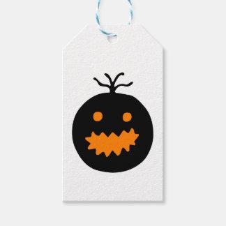Cute Halloween Pumpkin Gift Tags