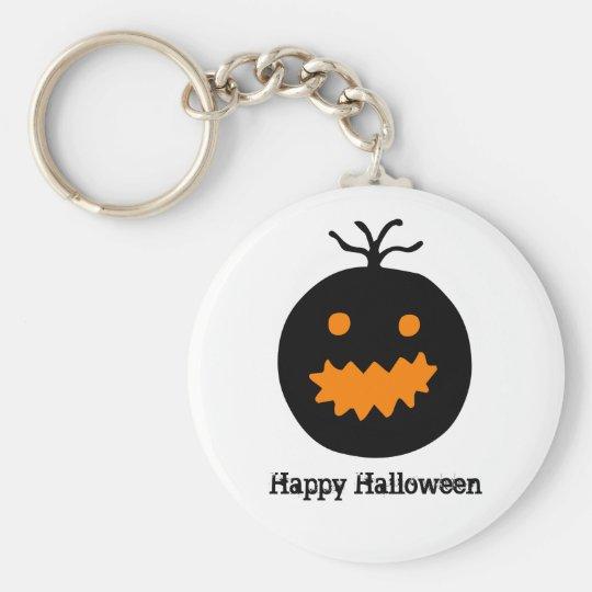 Cute Halloween Pumpkin Key Ring