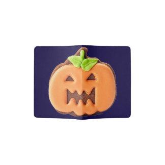 Cute Halloween pumpkin Passport Holder