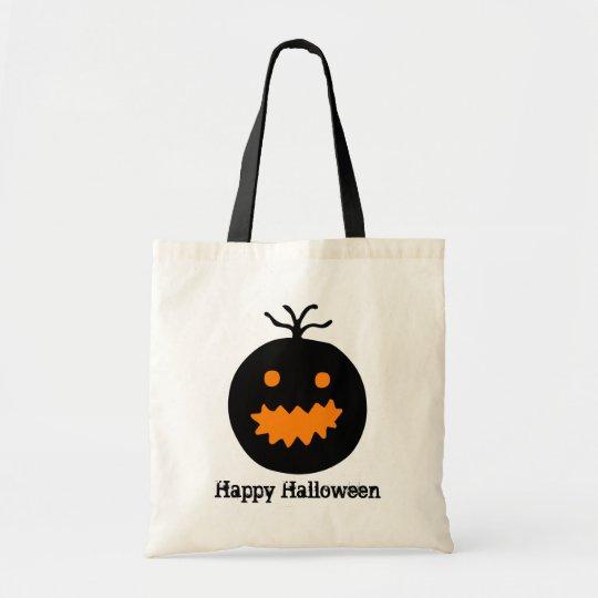 Cute Halloween Pumpkin Tote Bag