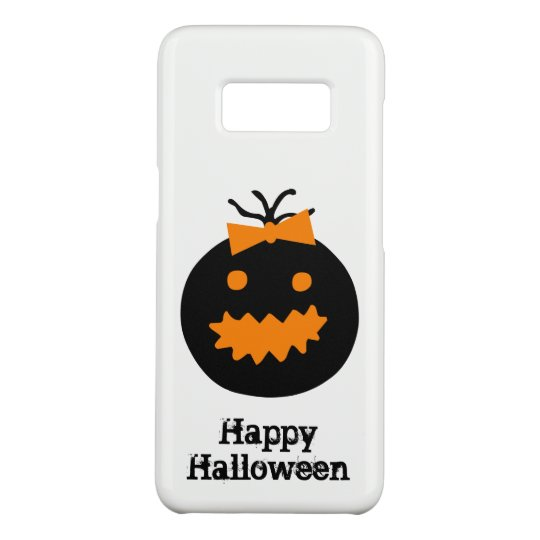Cute Halloween pumpkin with bow Case-Mate Samsung Galaxy