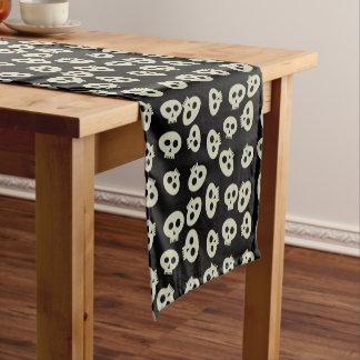 Cute Halloween Skull Pattern Table Runner