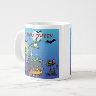 Cute Halloween Witch Tees and Gifts Jumbo Mug