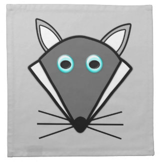 Cute Halloween Wolf Party Napkin