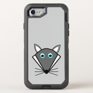 Cute Halloween Wolf Phone OtterBox Defender iPhone 7 Case