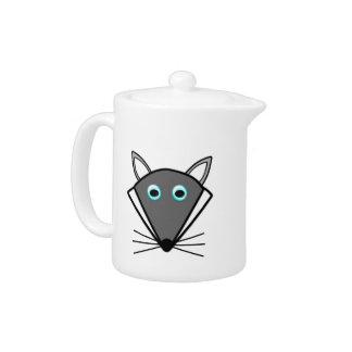 Cute Halloween Wolf Teapot