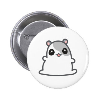 Cute Hamster Button