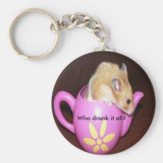 Cute Hamster Keychain