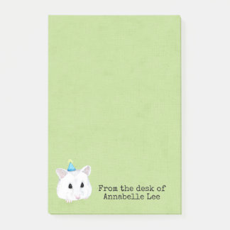 Cute Hamster Post-it Notes