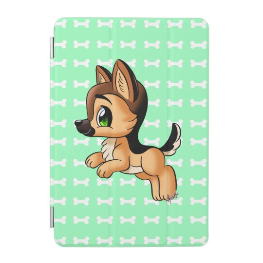 Cute Hand Drawn Puppy iPad Mini Smart Cover