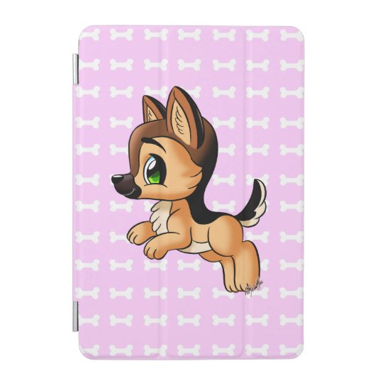 Cute Hand Drawn Puppy iPad Mini Smart Cover