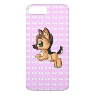 Cute Hand Drawn Puppy iPhone 7 PLUS Slim Case