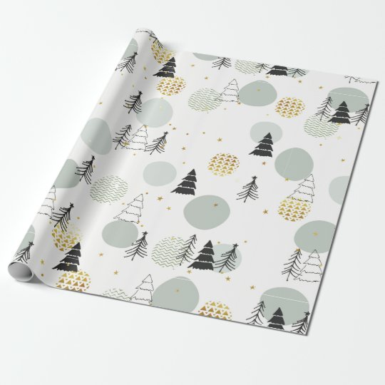 Cute Hand Made Christmas Pattern Wrapping Paper