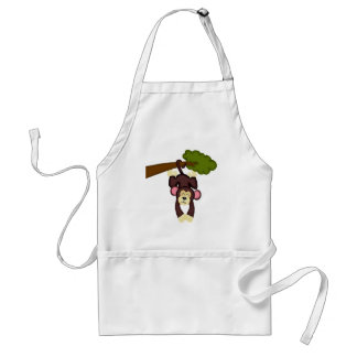 Cute Hanging Monkey Aprons