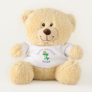 Cute Happy Birthday Personalized Teddy Bear
