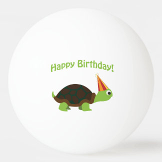 Cute Happy Birthday! Turtle