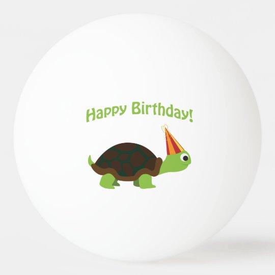 Cute Happy Birthday! Turtle
