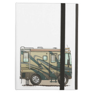 Cute Happy Camper Big RV Coach Motorhome iPad Air Cases