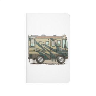 Cute Happy Camper Big RV Coach Motorhome Journal