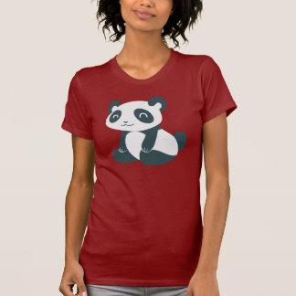 Cute Happy Cartoon Panda Tee Shirt