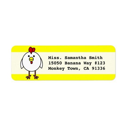 Cute Happy Chicken
