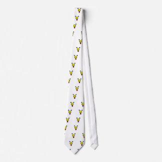 Cute Happy Chicken Head Tie