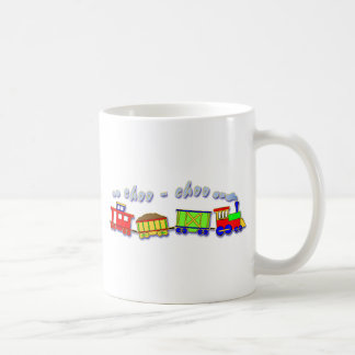 Cute Happy Choo Choo Train Coffee Mug